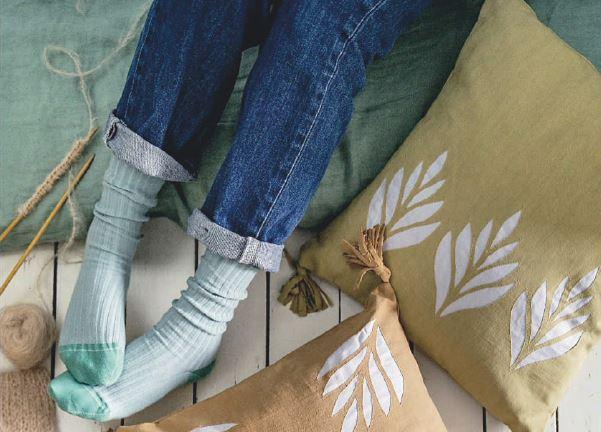 coussin diy teinture textile haute couture
